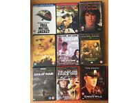 Mixture of dvd's