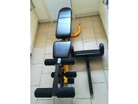 Bodymax Elite Utility Dumbbell Bench with Leg Curl & Preacher Pad HEAVY DUTY 225kg Max Load (press)