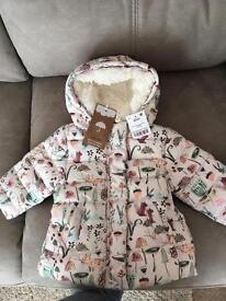 Next Baby Girls Coat