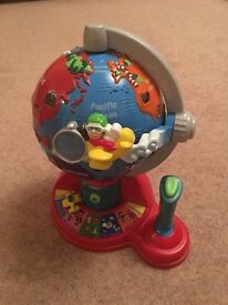 V-tech 'Fly and Learn' Interactive Globe
