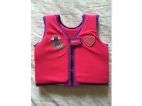 Speedo swim squad swim vest age 1-2 years