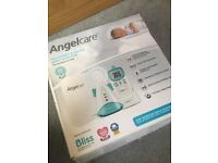 Angel care baby monitor with sensor pad, new.
