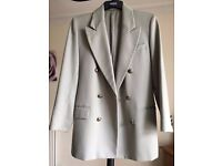 Woman's Blazer. Size 10. Very light green/lime. Excellent condition. Marks & Spencers. Pure Wool.