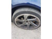 18 inch 3sdm 0.06 alloy wheels.