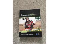 Business Ethics textbook (Crane & Matten)