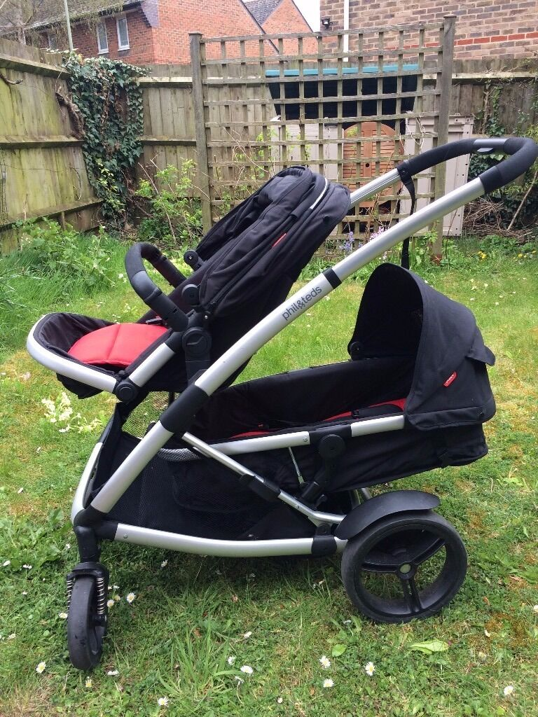 Phil And Teds Promenade Double Buggy In Oxford