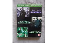 The Matrix Trilogy - The Complete Journey (DVD Set)