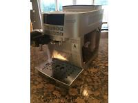Delonghi cappuccino system /coffee machine