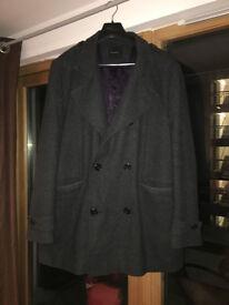 "Autograph military style coat XL (44"" - 46"" chest)"