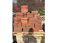 Marley Clay Plain Tiles in Heather