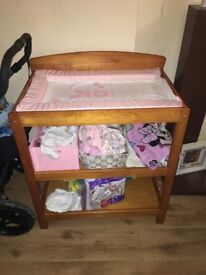Baby changing table - perfect condition