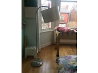 Daylight Company Vogue Floor Lamp, Brushed Chrome [Energy Class A].