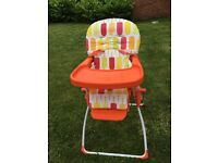 Cosatto Ice lolly high chair