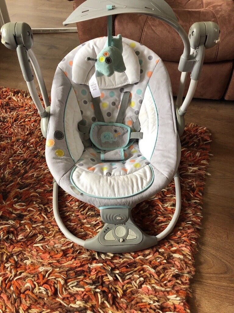 Ingenuity Swing Chair with vibrating seat | in Wirral, Merseyside | Gumtree