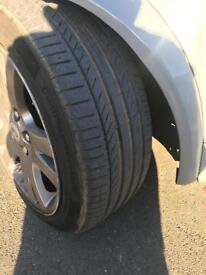 "Range Rover sport 19"" set of four alloy wheels"