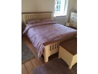 Country Cottage King Size Bed - excellent condition