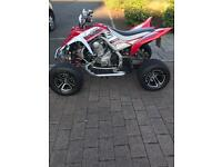 Yamaha raptor 700r se special edition road legal