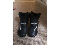 Alpinestars motorbike boots size 7