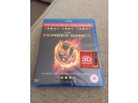 The Hunger Games Blu-Ray new sealed
