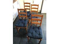 IKEA Dining chairs x 4