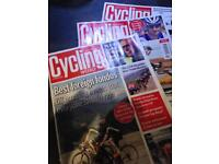 Cycling weekly magazines