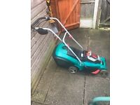Bosch Rotak 43 Ali battery lawnmower