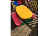 Children's garden table