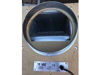 "Cheshunt Hydroponics Store - used 12"" Tornado acoustic wooden box fan 3250m3"