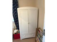 Stunning!!!!! Two Door Wardrobe in White (Babies R Us)