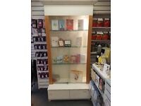 Glass cabinet - shop/retail display
