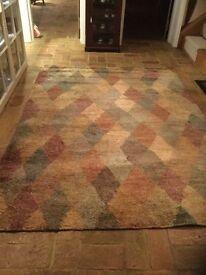 Jute rug from John Lewis 240x175cm