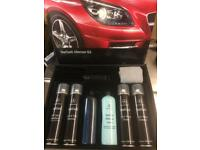Mercedes car detailing kit