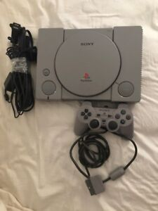 Sony play station 1 with controller