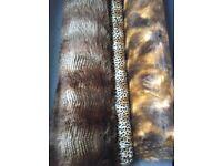 3 Rolls of luxury fake fur - 15 metres