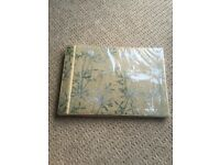 Unopened scrapbook / photo album