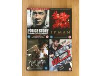 A Selection of Martial Arts DVD Movies
