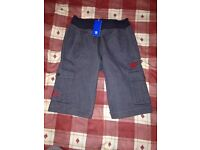 **Brand New With Tags** Adidas Originals Cotton Shorts - Mens - Colour Dark Grey - Size Small - £10