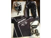Kids motocross gear 8-10 yr old