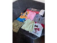 For sale a bundle of 4 to 5 boys clothes