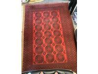 Afghan rug handmade carpet