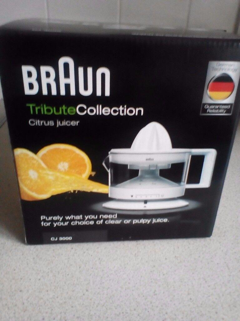 Braun tribute collection citrus juicer