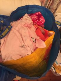 3-6 months girls clothes large mixed bag