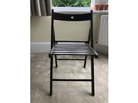 Ikea Terje Brown Folding Chair / can be both used in garden or living room