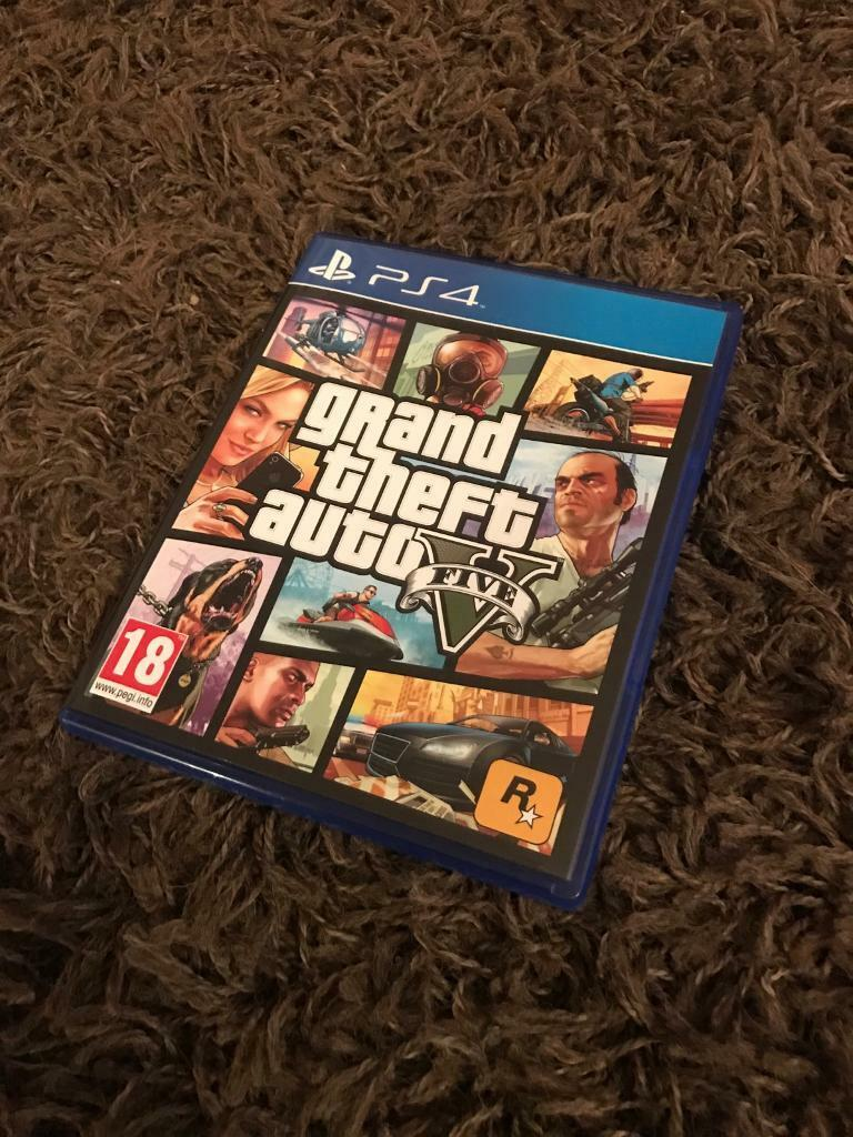 GTA V for ps4in Hucknall, NottinghamshireGumtree - GTA V For PS4.Only used a handful of times so like new.Not a mark on it.Perfect working order£20 Hucknall