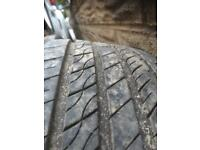 Four 225/40/18 two tyres got about 6 ml on them and the other two could be used as spares £40
