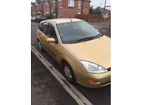 For Sale cheap car ford focus 1.6 £350 78kmileage