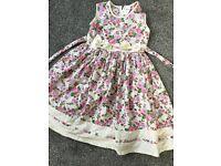 2 lovely aged 8 dresses