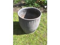 Dolly/Peggy Tubb - garden planter - vintage galvanised