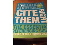 Cite them right referencing guide like new