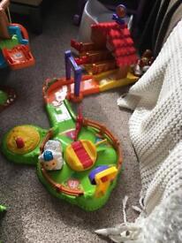 V tech toot toot toys